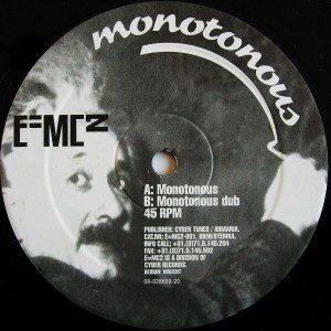 e=mc2-monotonous
